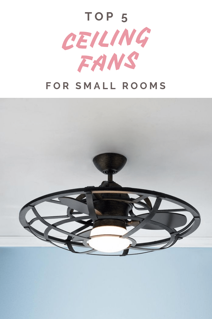 Best Ceiling Fans for Small Rooms | Homey Nutmeg