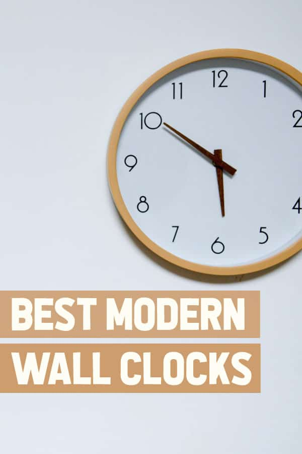 Best Modern Wall Clocks
