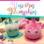 Arts and Crafts How to make a no carve unicorn pumpkin DIY