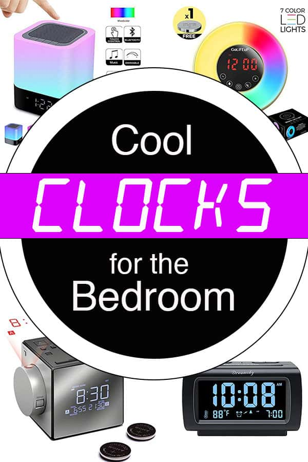 Cool Clocks for Bedroom