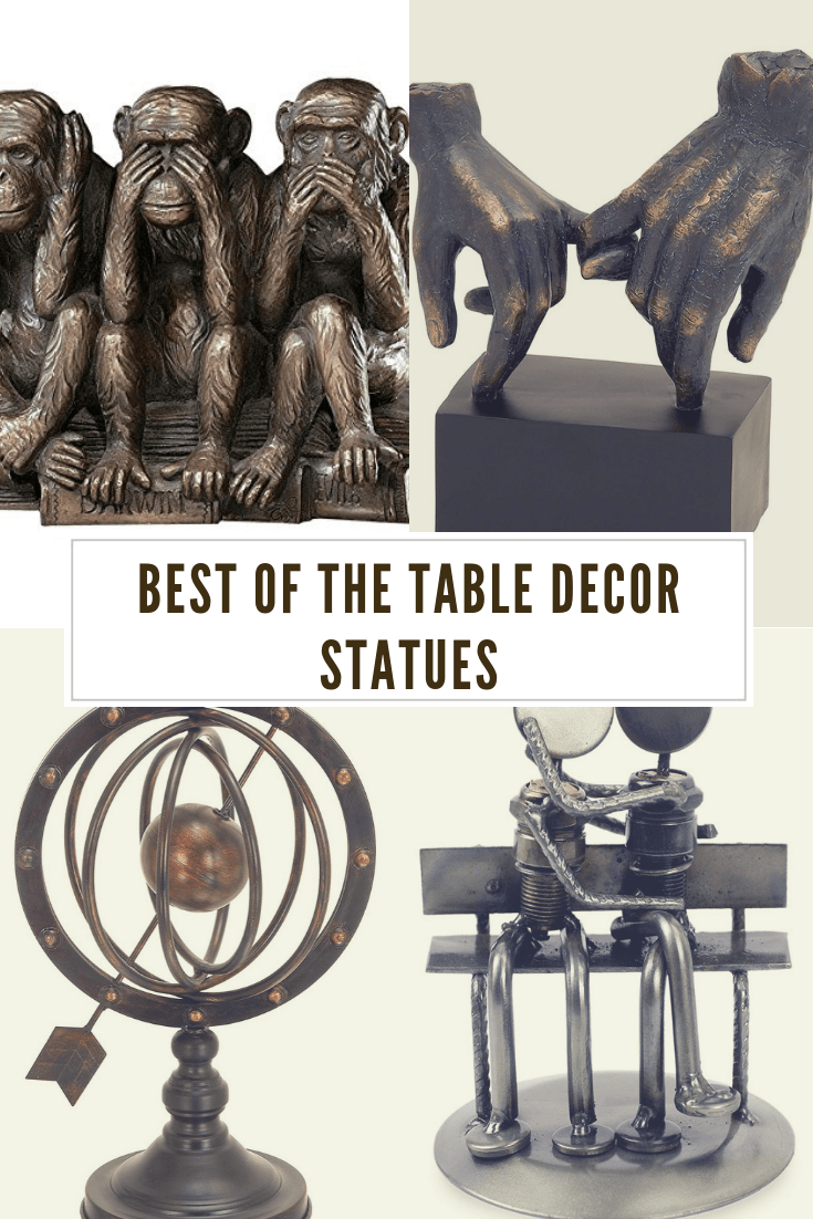 Stylish Table Decor Statues