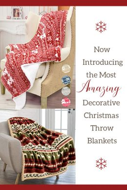 Holiday Throw Blanket